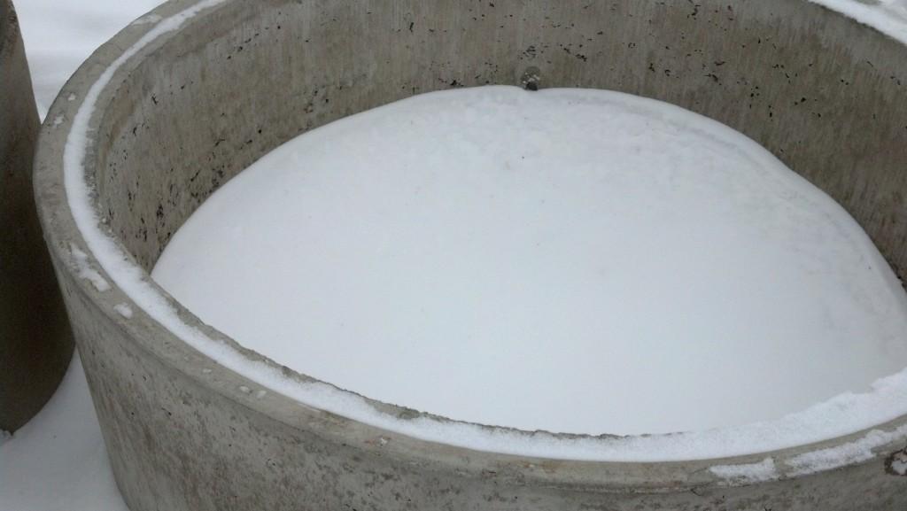 Кольца водопроводных колодцев